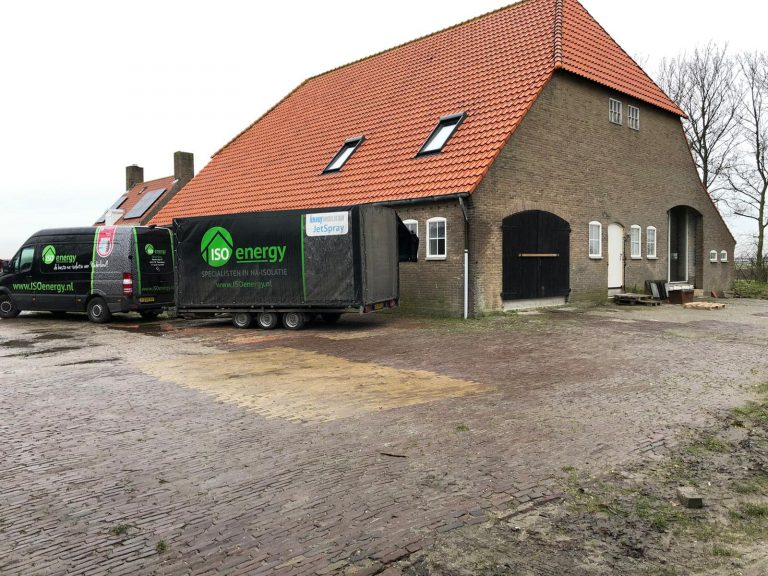ISOenergy Lewedorp dakisolatie project